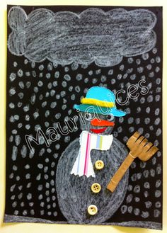 Mauriquices: Adoro fazer bonecos de neve!!!