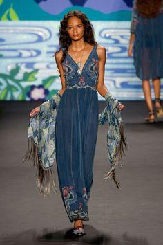 Anna Sui - Verão 2014 #NYFW