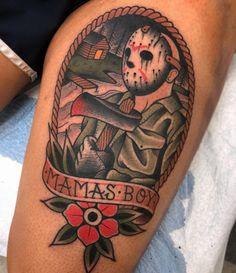 13 Tattoos, Hand Tattoos, Friday The 13th Tattoo, Traditional Tattoo Old School, Skull, Tattoo Ideas, Skulls, Sugar Skull