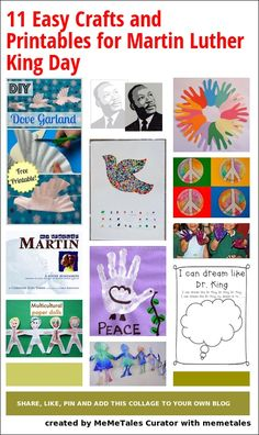 Picture Books and Resources for MLK Day from No Twiddle Twaddle