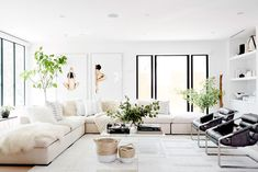 This Is Exactly How to Make Over Your Living Room for Free via @MyDomaine