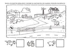 Menta Más Chocolate - RECURSOS y ACTIVIDADES PARA EDUCACIÓN INFANTIL: Actividades ANIMALES de la GRANJA