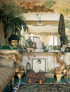 Vanessa Del Rio. New New York Interiors - Peter Webster, Angelika Taschen. - GOLD and GREENS
