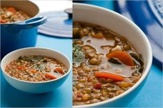 Lentil Minestrone with Greens: NYTIMES COOKING