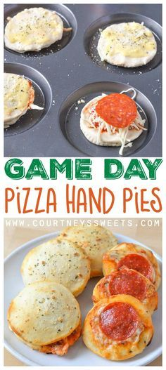 ... cheese!! Cheesy Pepperoni Hand Pies! Game Day Recipe Pizza Hand Pies