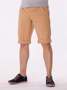 Pantaloni scurti barbati Luppo - portocale