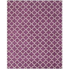 Chatham Purple/Ivory 8 ft. 9 in. x 12 ft. Area Rug