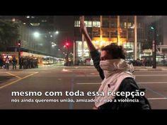 Violência Militar gratuita contra manifestantes. Movimento Passe Livre. Revolta. Protesto São Paulo.
