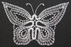 Gekloste vlinder