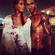Adam Levine and Behati Prinsloo Get Bloody for Maroon 5's Animals Video as Band Reveals Tour Dates