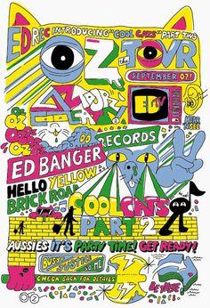 So Me, Ed Banger Records. #poster #print