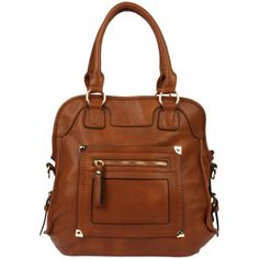 Cool fall find: brown satchel purse