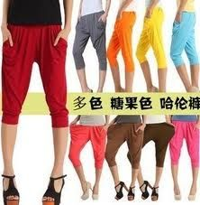 Cute chinese pants!  and soo many colors!