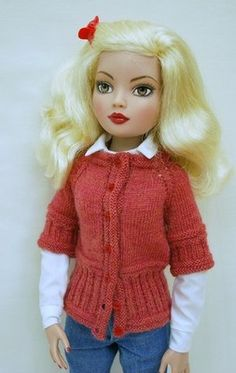 DWD Free Pattern #5 Click Here to Download Fits MSD sized dolls, Ellowyne Wilde, Kish Chrysalis series