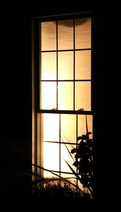 Looking through a Nighttime Window (by ranhar2, via Flickr)