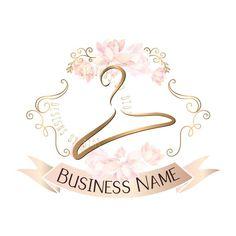Premade Logo Clothing Hanger Logo Design Embroidery Logo