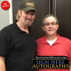 Miles O'Keeffe in-person autographed