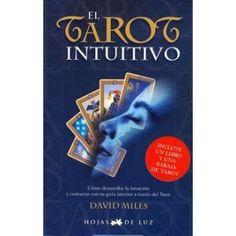 Aquí tienes un Tarot práctico, sencillo y fácil de aprender. Con este libro, en menos ... Tarot, Cover, Books, Simple, Letters, Libros, Book, Book Illustrations, Tarot Decks