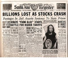 an overview of the black tuesday during the american depression Great depression essential questions essential questions are deep and fundamental questions that are at the heart of a topic they're wide in scope and can inspire deep thought and discussion.