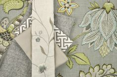 yellow and gray fabrics for dining room chairs | Yellow and Grey take Center Stage