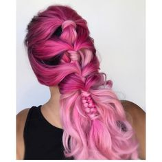 """5,309 Likes, 21 Comments - Hair Makeup Nails Beauty (@hotonbeauty) on Instagram: """" Pink Dreams  by @sweetlypinnedhair Beautiful styled hair Caralee! #hotonbeauty"""""""