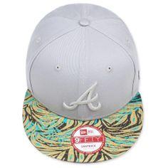 New Era Atlanta Braves Tropical Snapback Unisex NY Ness Top YOLO Neu