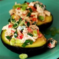 Avocado and Tuna Tapas Allrecipes.com #MyPlate