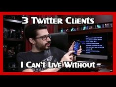 Community Question: What clients do you use for Twitter? Twitter is a stream of the world's consciousness, a never-ending succession of tweets that could ver...