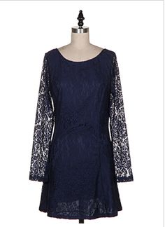 Midnight Lace Dress. $58; CovetSF.com. FREE shipping on orders $50+.