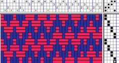 Talking about Weaving: Weaving 4-Shaft Crackle  talkingaboutweaving.blogspot.com