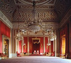 Buckingham Palace Throne Room                                                                                                                                                     More