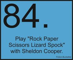 And I'd keep playing Spock just to get under his skin.