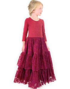 Wennikids Little Girls Double Ruffle Solid Tank Top T-Shirt Short Sleeve Small Hot Pink 01