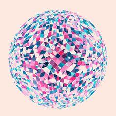 Geometric Print Collection (Jul 12 - Sep 12) by Simon C Page, via Behance