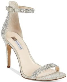 INC International Concepts Women's Roriee Rhinestone Ankle-Strap Dress Sandals, Only at Macy's | macys.com