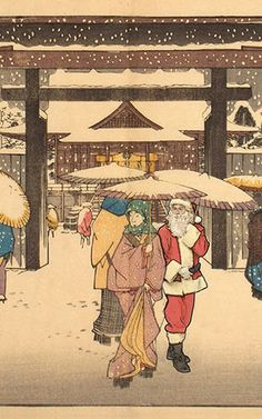 1 | Santa Hilariously Invades Famous Works Of Art | Co.Design | business + design
