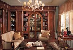Гостиная классицизм Bookcase, Shelves, House, Design, Home Decor, Living Rooms, Google, Studio, Lounges