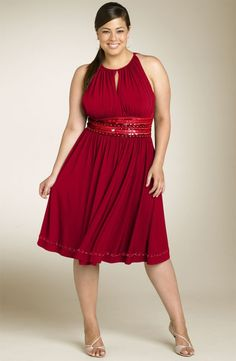 5 pound red dress 1x