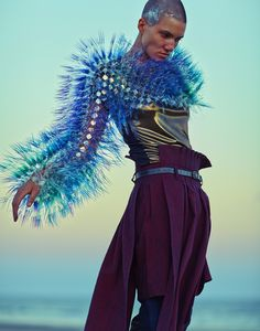 Maiko Takeda eclectic , Avant garde , couture fashion menswear