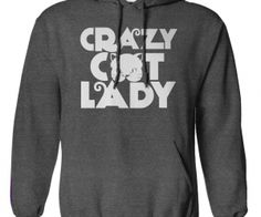 Crazy Cat Lady. Do you have the guts to wear it? Crazy Cat Lady.  spenditonthis.com