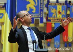 Arsenii Jatsenjuk külastas Lvovi oblastit