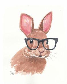 smart bunny.