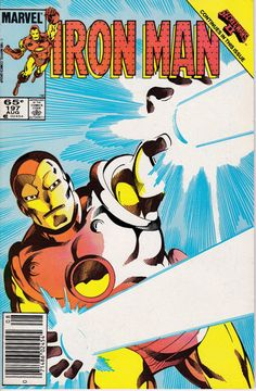 Iron Man 197 August 1985 Issue  Marvel Comics  by ViewObscura