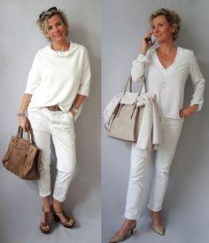 Best Fashion Ideas For Women Over 50 - Fashion Trends Mature Fashion, Older Women Fashion, Over 50 Womens Fashion, Fashion Over 50, Girly Outfits, Stylish Outfits, Fashion Outfits, Mode Inspiration, Beautiful Outfits