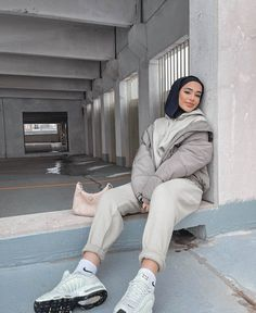 Modest Outfits Muslim, Modest Casual Outfits, Modest Fashion Hijab, Modern Hijab Fashion, Casual School Outfits, Muslim Fashion, Fashion Fashion, Trendy Outfits, Spring Fashion