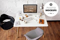 iMac  - 10 photo mockups by show it better on @creativemarket
