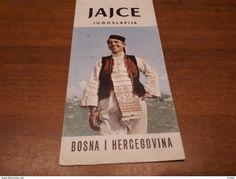 Old Prospect, Brochure - Bosnia, Jajce - Vecchi Documenti