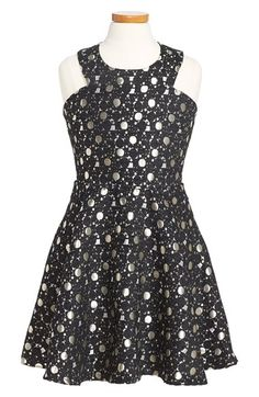 MISS BEHAVE 'Emily' Skater Dress (Big Girls) available at #Nordstrom