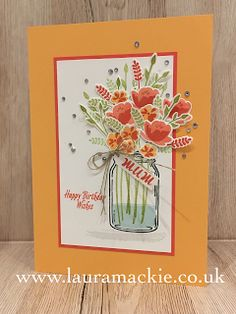 Stampin Up UK Demonstrator, Order Stampin up products online today, Stampin Up Ideas, Stampin up card making, Stampin up project life, Laura Mackie,