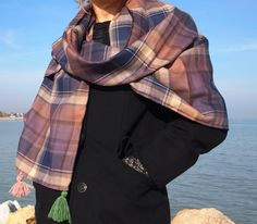 sciarpa stola lana calda di jenniewabisabi su Etsy